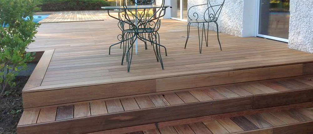 terrasses essence bois