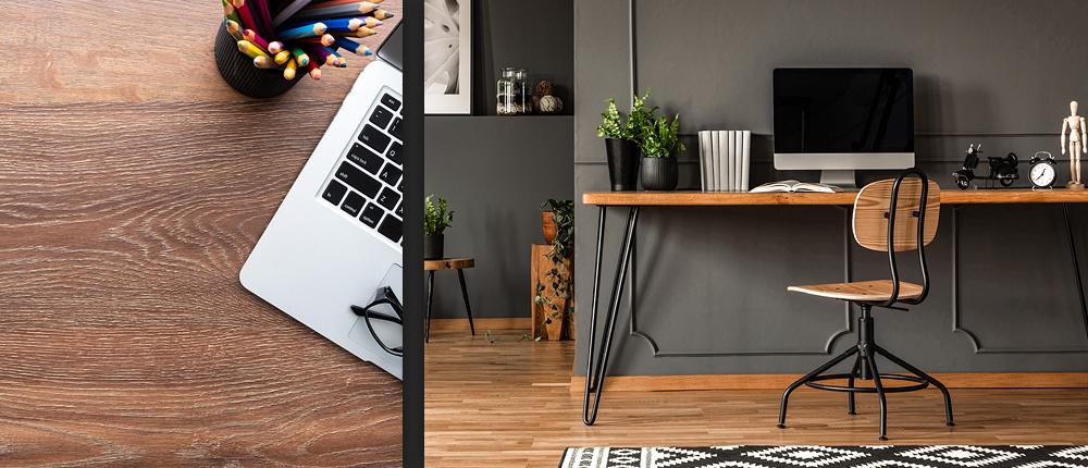 avantages d'un bureau sur mesure en bois