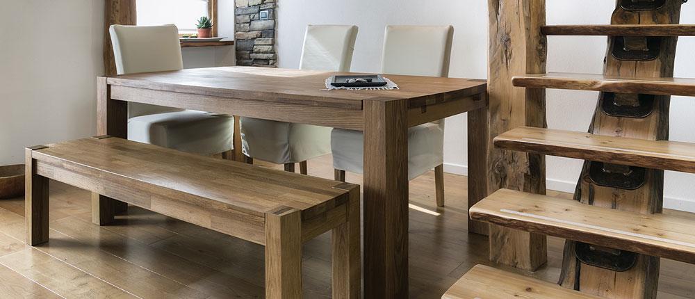 le charme d'une table en bois sur mesure